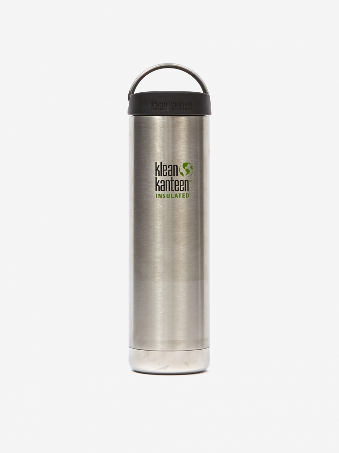 Klean Kanteen Insulated TKWide Bottle 20oz - Brushed Stainless (Image 1)