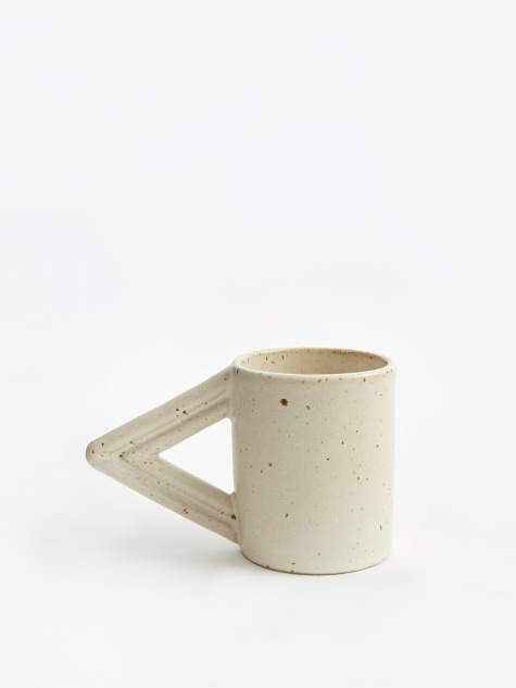 A Cute Angle Mug - Satin Cream