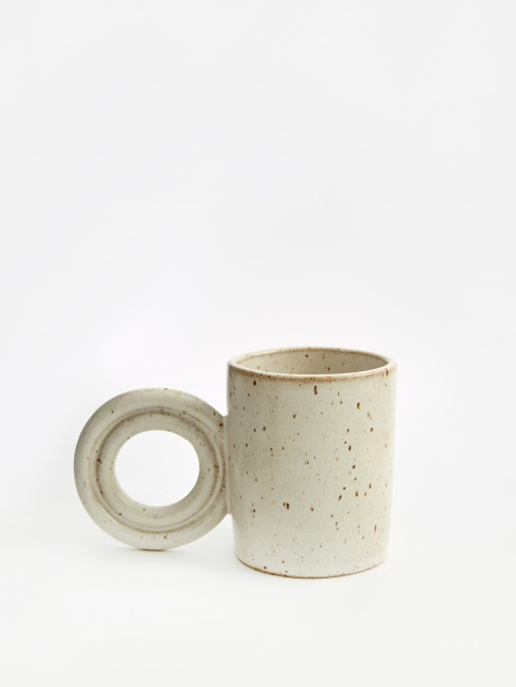 Hoopla Mug - Satin Cream