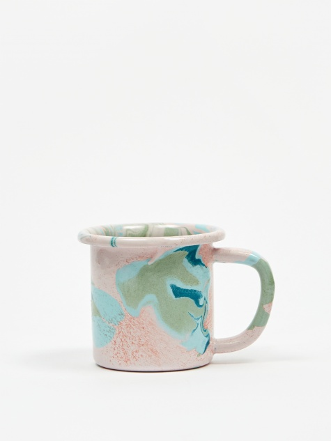 Marble Small Mug 7.5cm - Blush