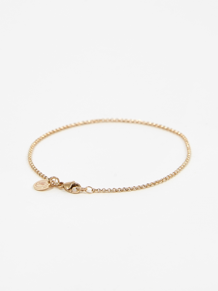 Goods By Goodhood Baby Belcher Bracelet - 9ct Yellow (Image 1)