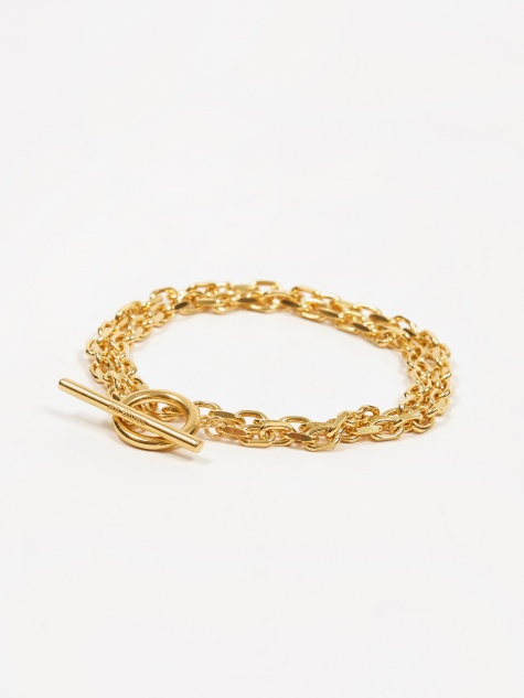 Anchor Bracelet - Gold