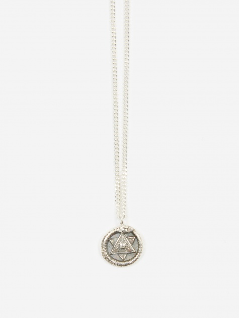 The Ouroboros Metamorphosis Pendant - Silver