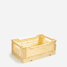 Hay Colour Crate Small - Light Yellow