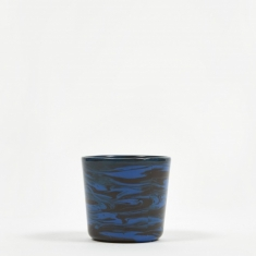HAY Marbled Cup - Dark Blue