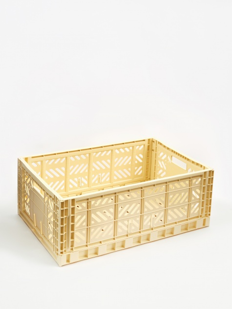 Colour Crate Large - Light Yellow