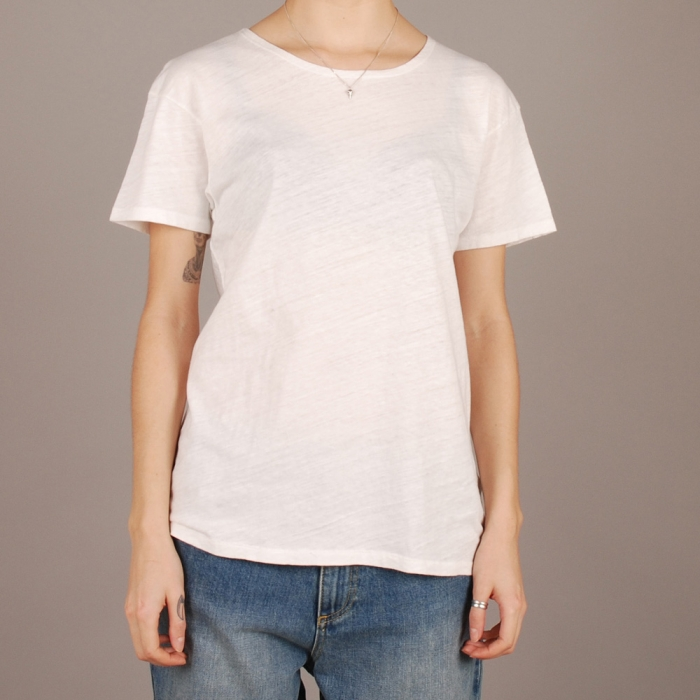 Levi's Vintage Clothing Levi's Vintage Bay Meadows Tee - Milk White (Image 1)