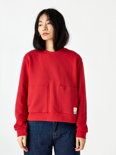 Karsen Sweatshirt - Red