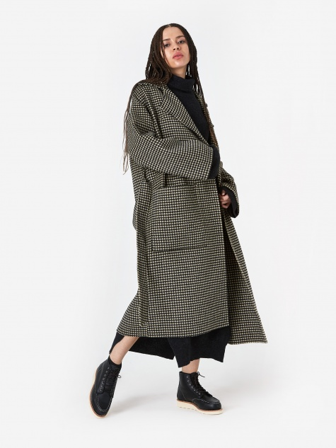 Alamo Coat - Houndstooth