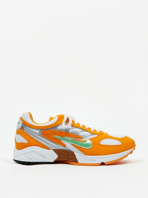 Air Ghost Racer - Orange Peel/Aphid Green/Platinum