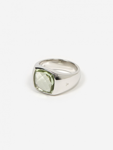 Shelby Ring - Green Quartz