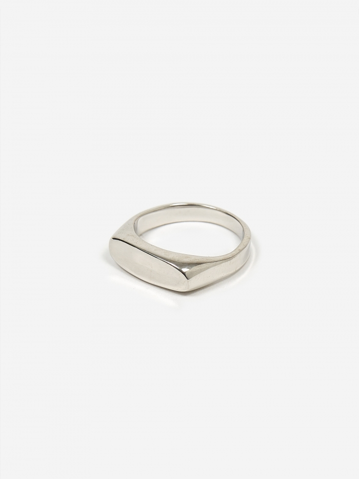 Maria Black Papaya Ring - High Polished Silver (Image 1)
