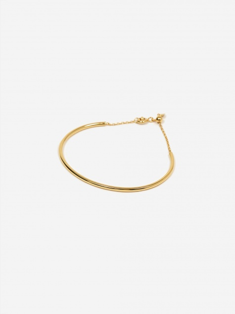 Loom Medi Bracelet - High Polished Gold