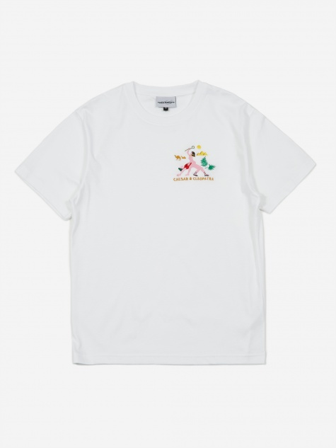 Cesar In Cleopatra Shortsleeve T-Shirt - White