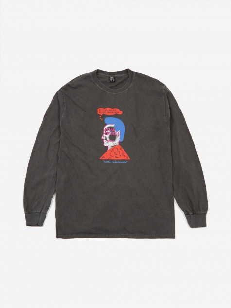Head Party Longsleeve T-Shirt - Putty