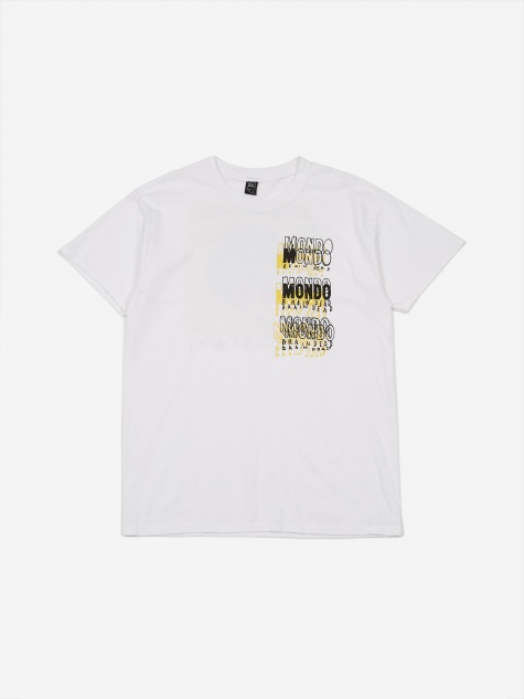 Mondo Shortsleeve T-Shirt - White
