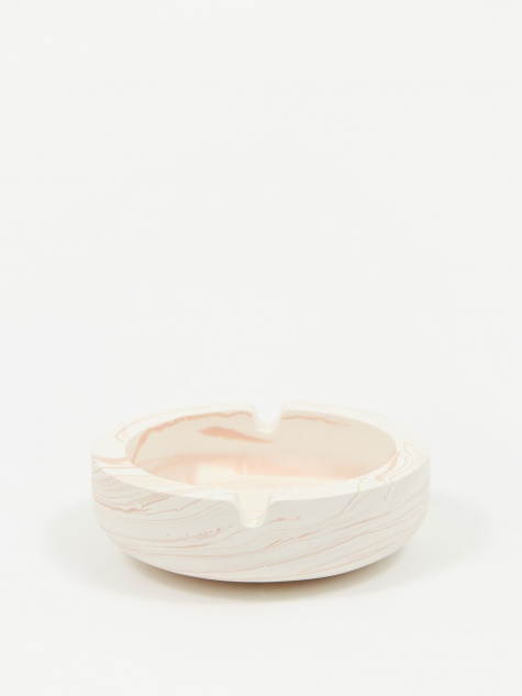 Jesmonite Pink Marble Ashtray