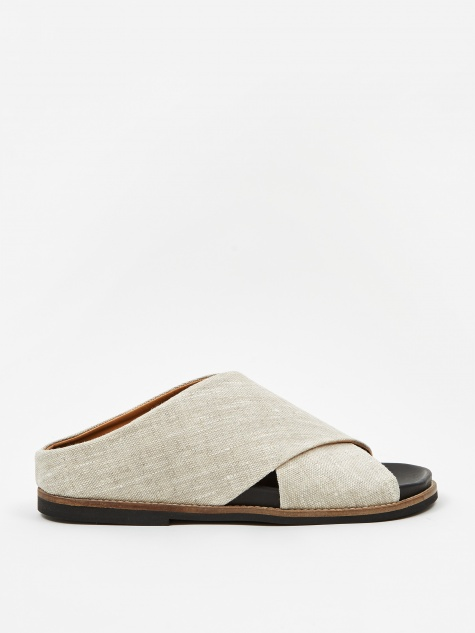 Crossover Flat Sandal - Nature