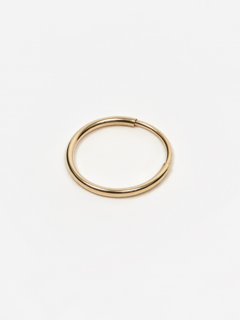Baby Hoop Earring - 14k Yellow Gold