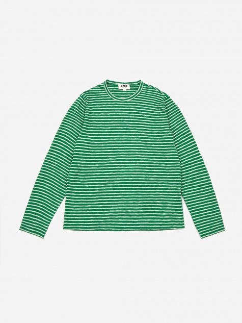X Sweatshirt - Green/Ecru