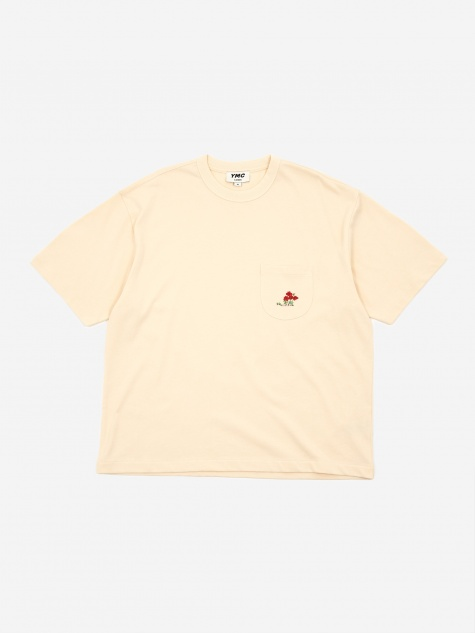 Poppy Triple Shortsleeve T-Shirt - Ecru