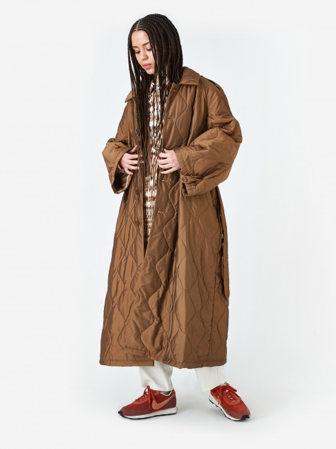 Vaghezza  Coat - Tobacco