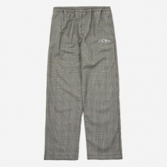 Tres Bien x Sneeze Checked Wool Trouser - Grey