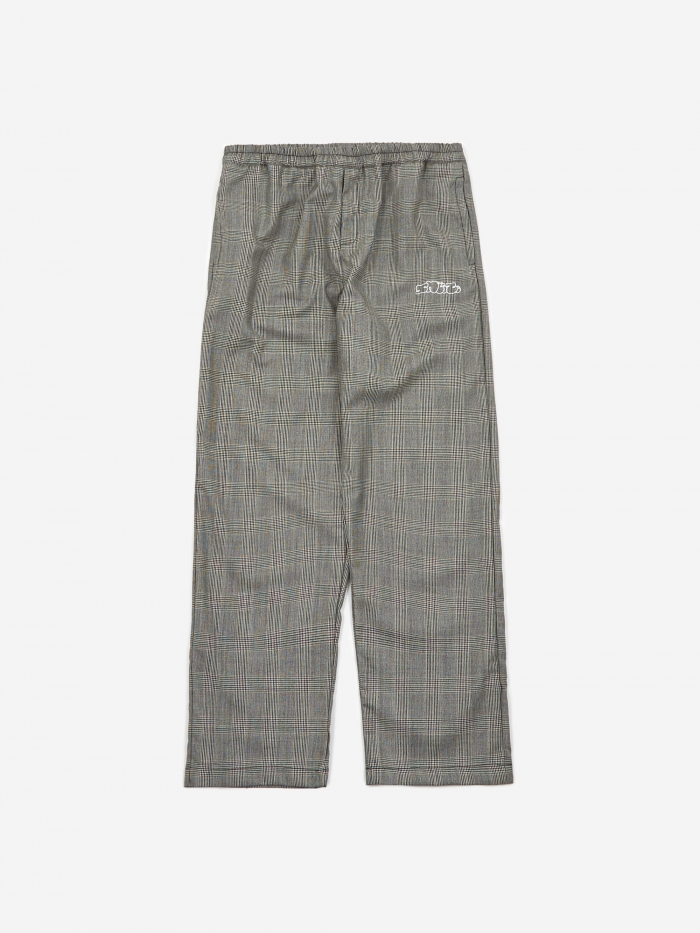 Très Bien Tres Bien x Sneeze Checked Wool Trouser - Grey (Image 1)