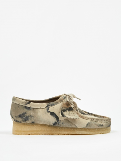 Clarks Wallabee - Off White Camo