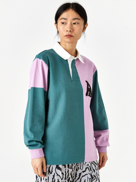 Rugby Shirt - Pink/Hydro