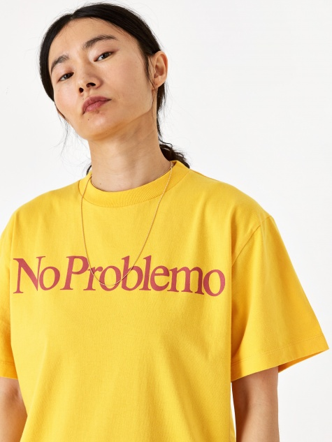 No Problemo Shortsleeve T-Shirt - Yellow