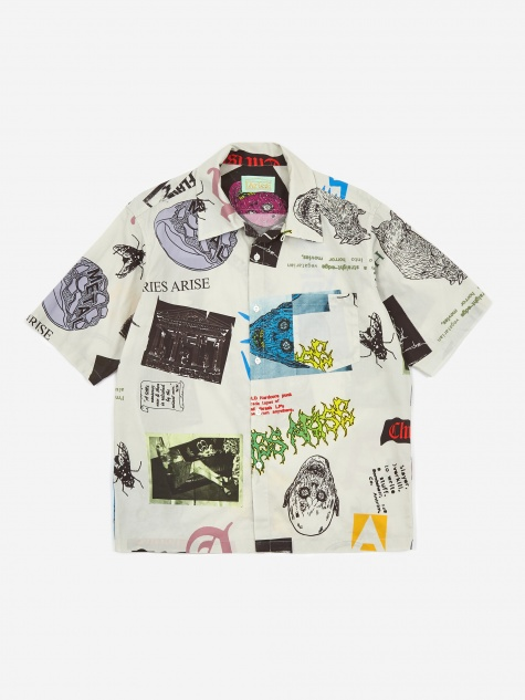 Thrasher Hawaiian Shirt - White