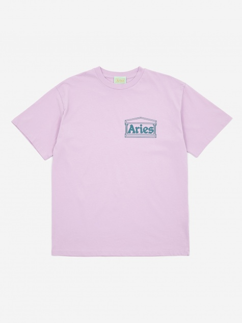 Classic Temple Shortsleeve T-Shirt - Pink