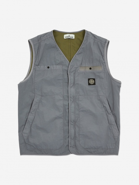 SI PA/PL Seersucker Vest - Powder