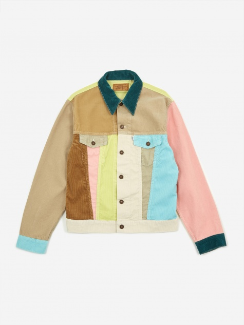 Levis Vintage Clothing Cord Trucker Jacket - Soap Box