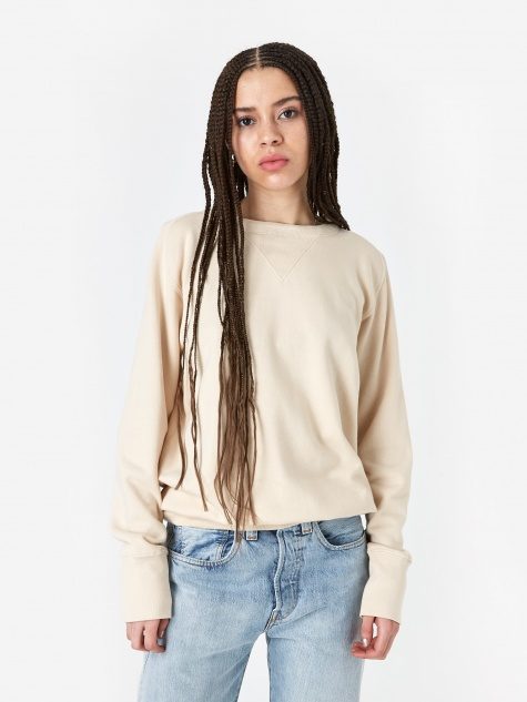 Levis Vintage Clothing Bay Meadows Sweatshirt - Double Cream