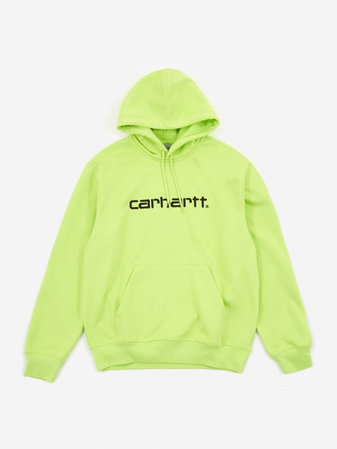 Hooded Sweatshirt - Lime/Black