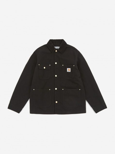 OG Chore Coat - Black/Black Rinsed