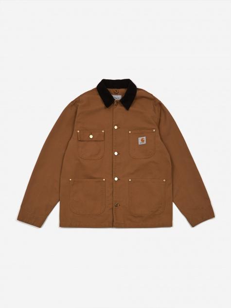 OG Chore Coat - Hamilton Brown/Black Rinsed