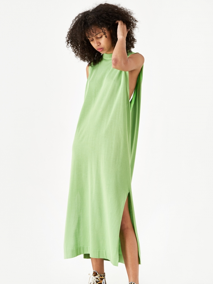 TOGA PULLA Bright Knit Dress - Green (Image 1)