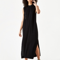 TOGA PULLA Knit Dress - Black