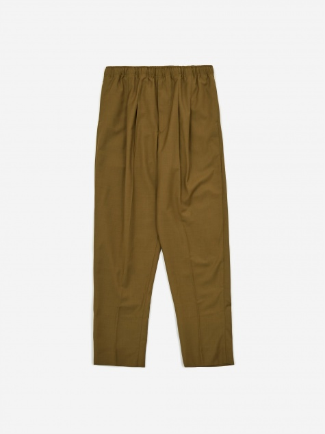 Suiting Easy Trouser - Khaki