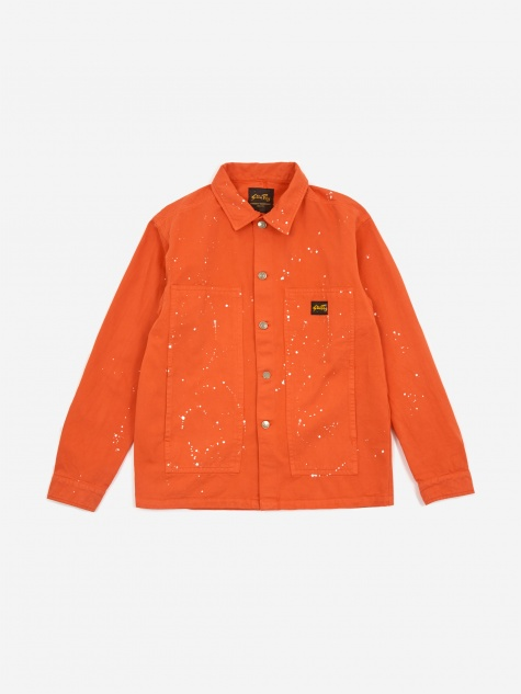 Box Jacket - Coral/Bleach