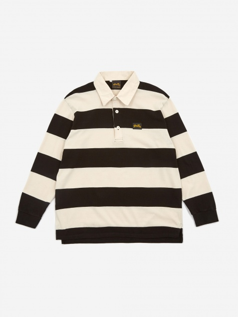 Rugby Shirt - Black/Natural