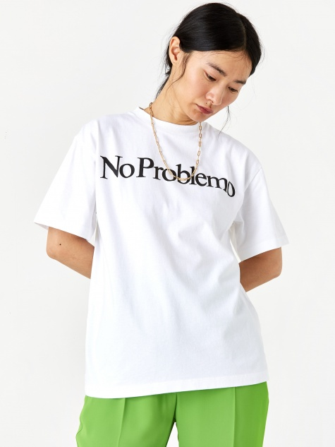 No Problemo Shortsleeve T-Shirt - White