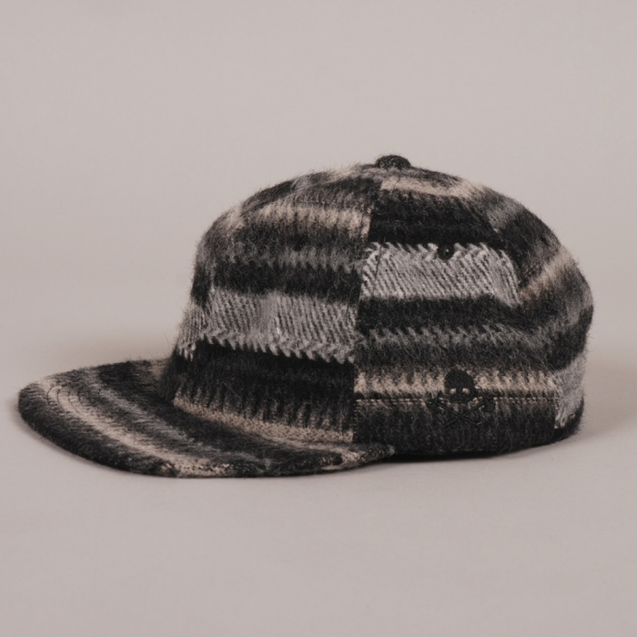 Maiden Noir Nordic Wool Ball Cap - Grey Wool (Image 1)