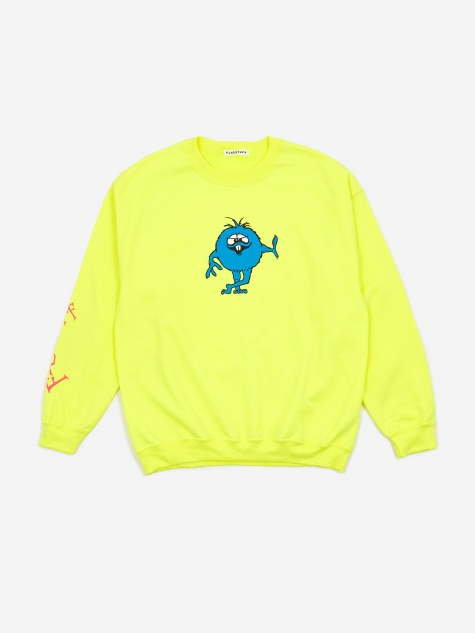 Monster Sweatshirt - Yellow