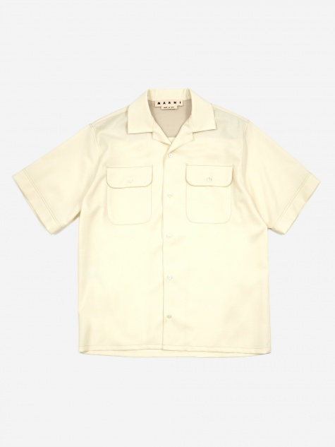 Fifties Fresco Shirt - Ivory