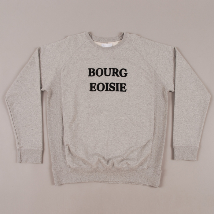 Soulland Bourgeoisie Sweat - Grey Melange (Image 1)