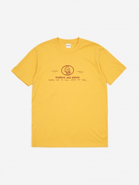 Brothers and Sisters Shortsleeve T-Shirt - Gold